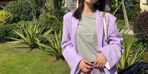 谁穿紫色没显过黑,参考这4条配色干货,气质又显白